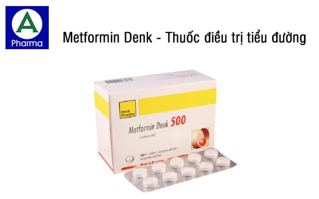 Metformin Denk là thuốc gì?