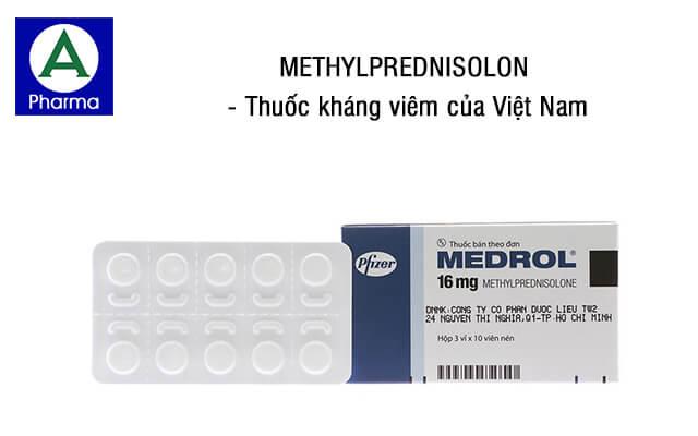 Methylprednisolon là thuốc gì?