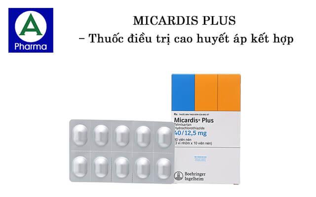 Micardis Plus là thuốc gì?