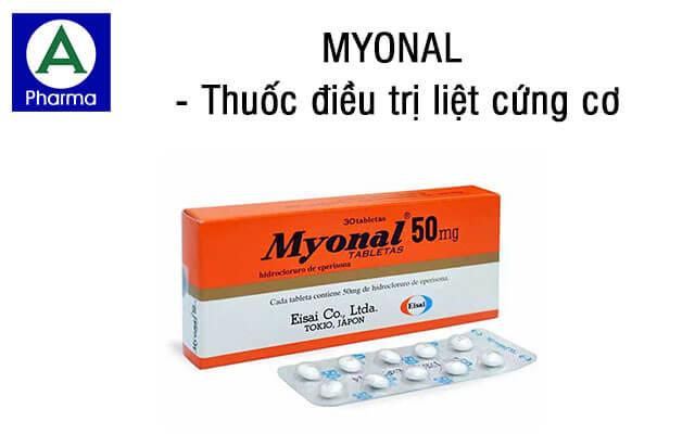 Myonal là thuốc gì?