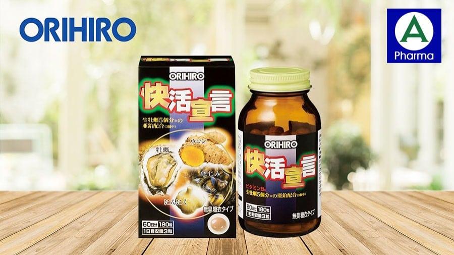 Orihiro được chiết xuất từ hàu tươi