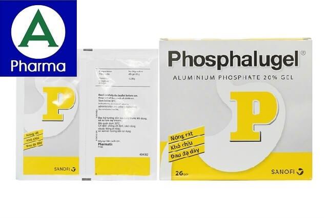 Giới thiệu về thuốc trị đau dạ dày Phosphalugel