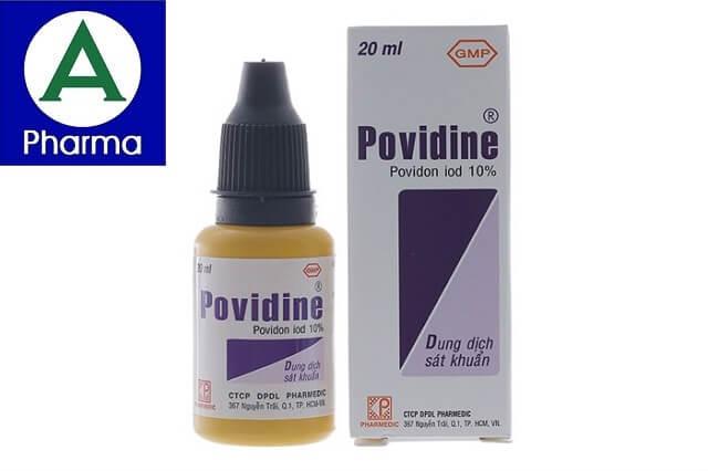 Giới thiệu về dung dịch sát khuẩn Povidine 10% 20Ml