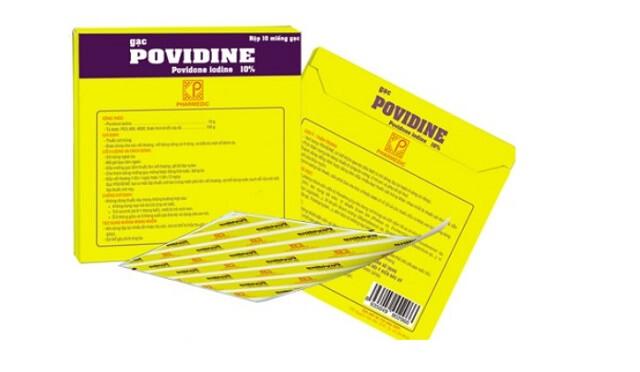 Công dụng khi sử dụng miếng gạc sát trùng Povidine