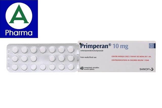 Giới thiệu về thuốc chống nôn Primperan 10Mg Sanofi 2X20
