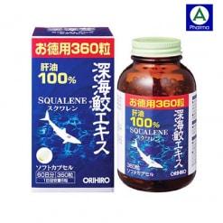 Squalene Orihiro Nhật Bản - Dầu gan cá mập nguyên chất