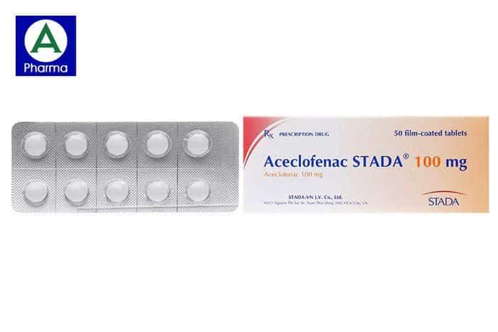 Aceclofenac Stada 100 Mg - cái tên quen thuộc với những người mắc bệnh về khớp
