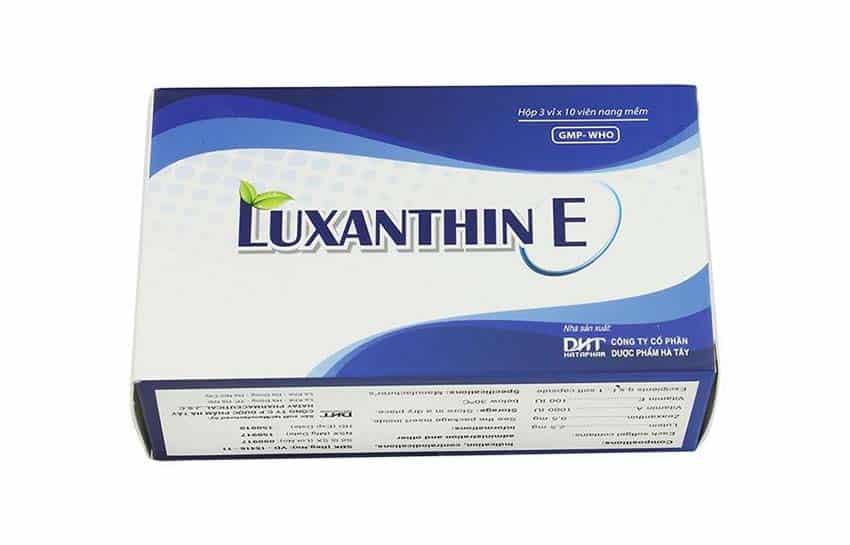 Luxanthin E phòng ngừa và điều trị các bệnh về mắt