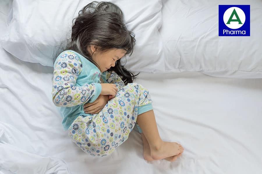Trẻ đau bụng, tiêu chảy, biếng ăn khi bị rối loạn tiêu hóa