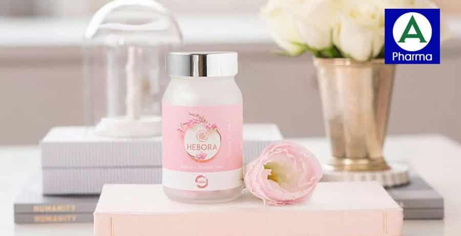 Viên uống thơm cơ thể Hebora Nhật Bản 100% chính hãng