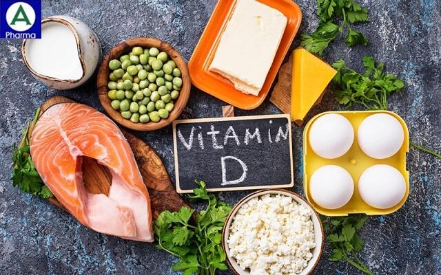 thuc pham giau vitamin D