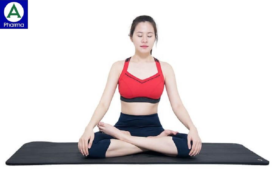 Động tác tập hít thở ngồi