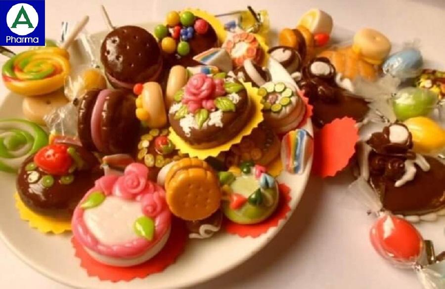 Bánh kẹo ngọt làm tăng nhanh đường máu sau ăn