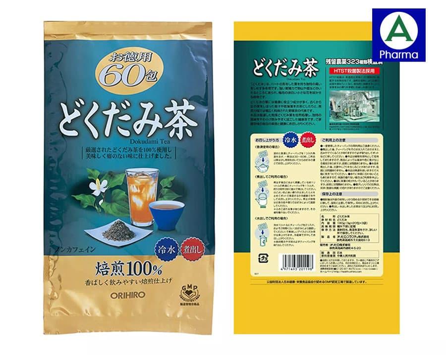 Một số câu hỏi thường gặp về trà diếp cá Nhật