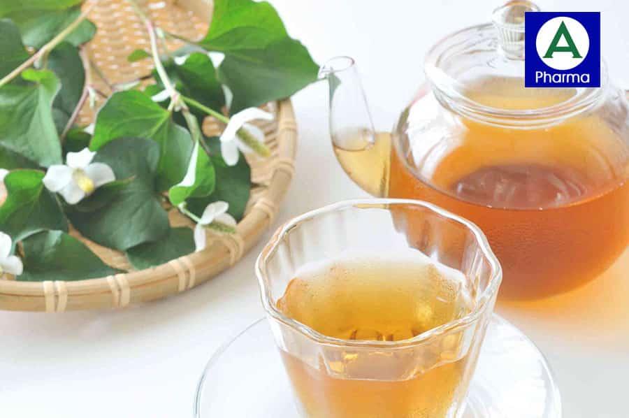 Cách dùng trà diếp cá Orihiro
