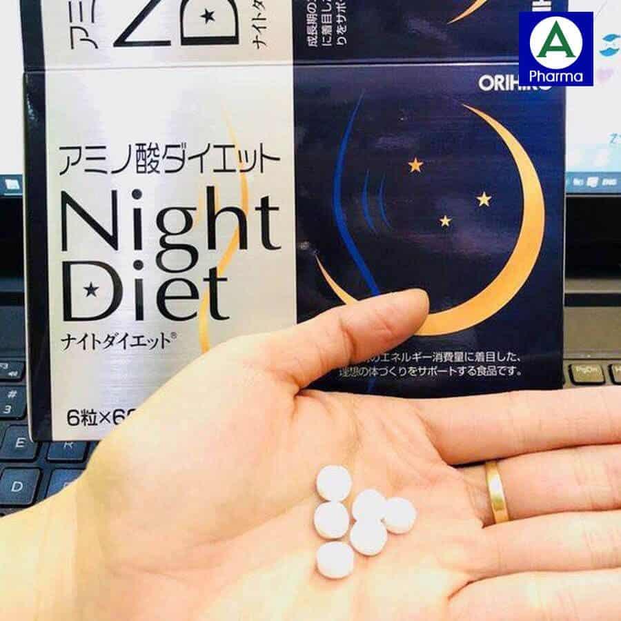 Cách dùng viên uống Night Diet