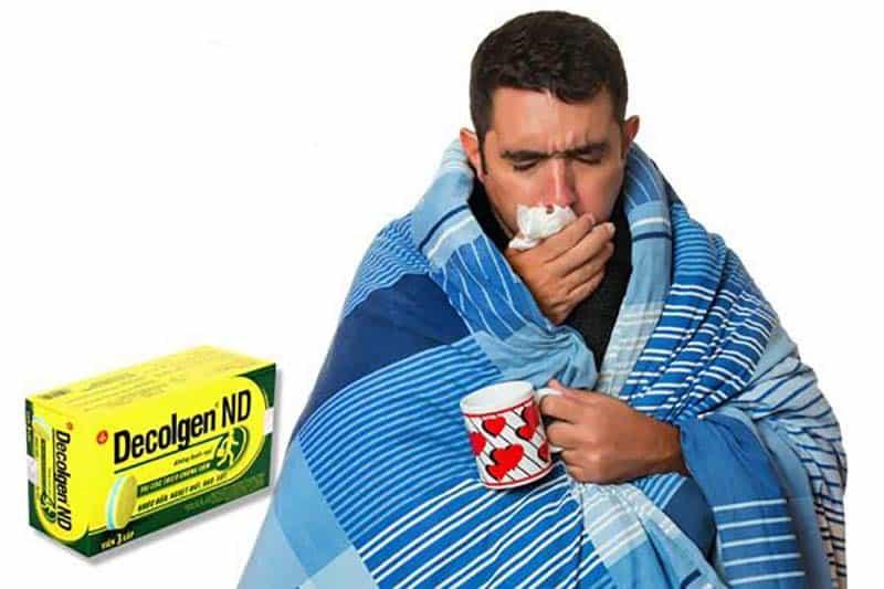 Cách sử dụng thuốc cảm cúm Decolgen ND