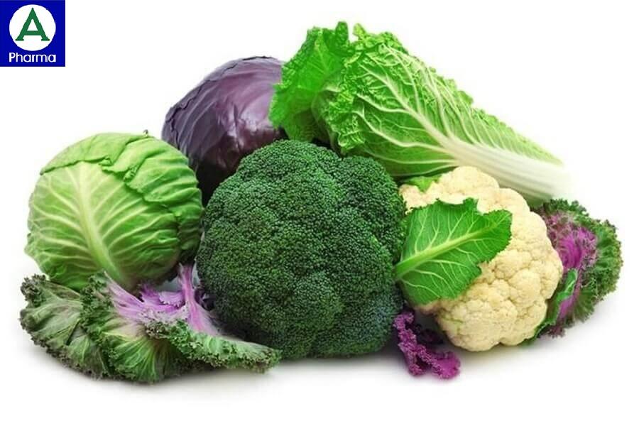 Người bị suy giáp hạn chế ăn các loại rau họ nhà cải.