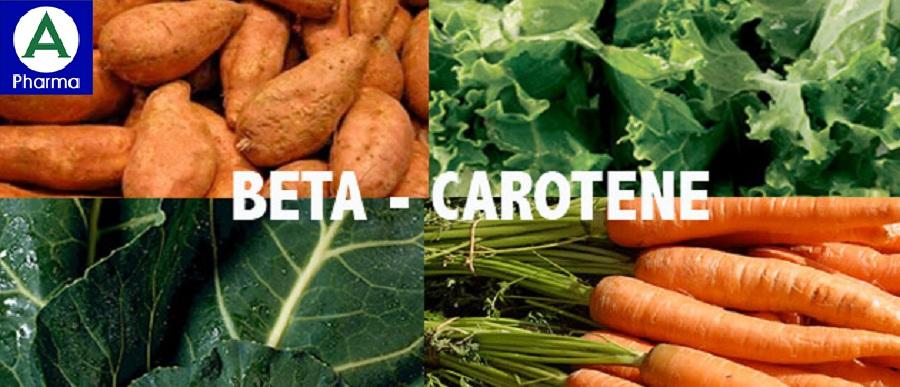 Một số thực phẩm giàu Beta-Carotene