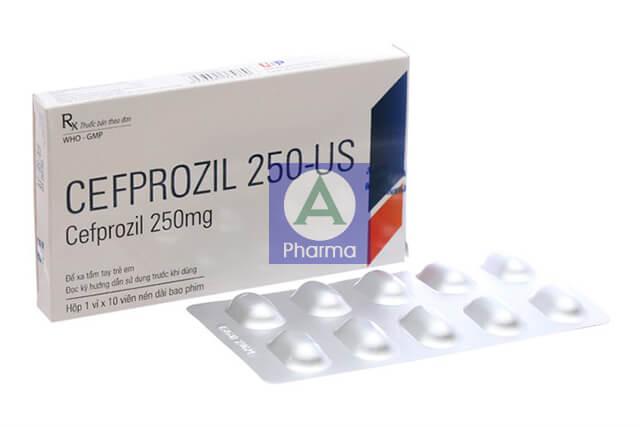 Cefprozil 250-Us Usp 1X10 là gì?