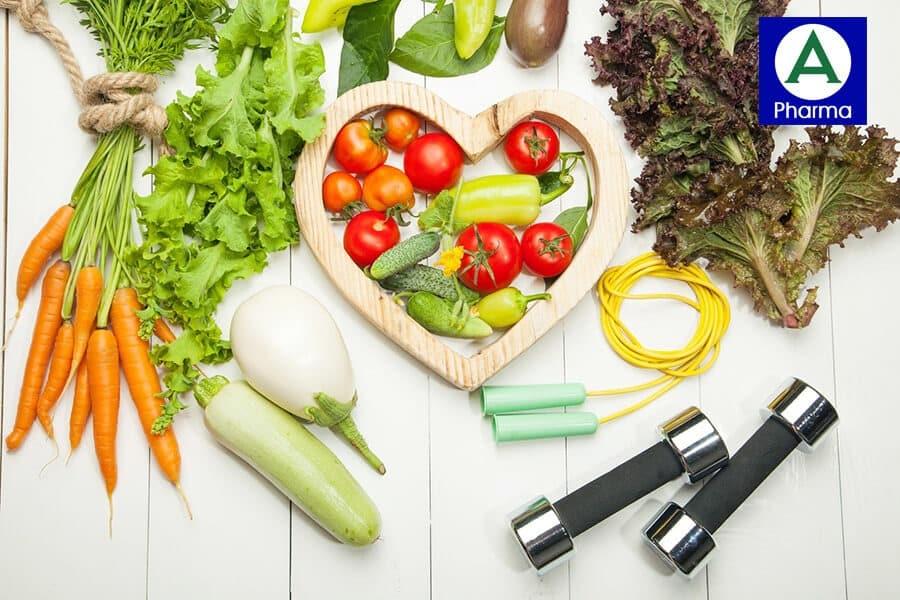 Cải thiện chế độ sinh hoạt bên cạnh việc sử dụng thực phẩm chức năng