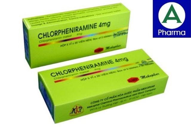 Thuốc Chlorpheniramine 4mg là thuốc gì?