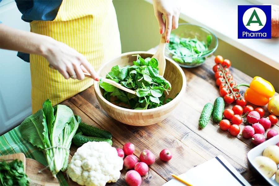 Trong thời gian sử dụng sản phẩm bạn cũng cần chú ý đến dinh dưỡng