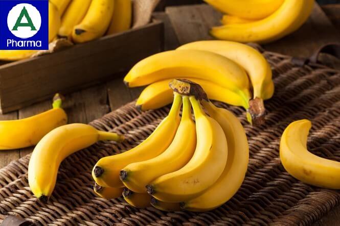 Chuối nhiều chất dinh dưỡng và làm giảm đau dạ dày