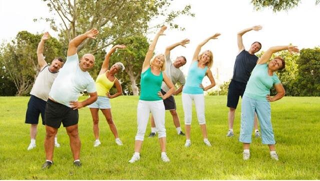 Vận động mỗi ngày đem lại một cơ thể khỏe khoắn