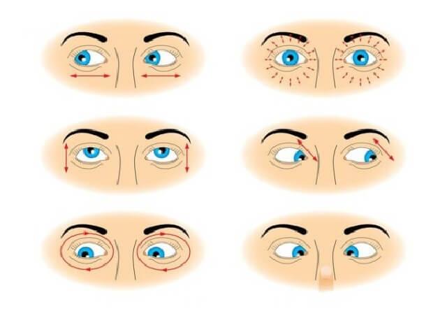Tập thể dục cho mắt