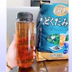 Những công dụng tuyệt vời chỉ có ở trà diếp cá Orihiro.