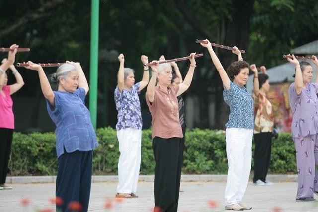 chế độ vận động dành cho người bị tăng huyết áp