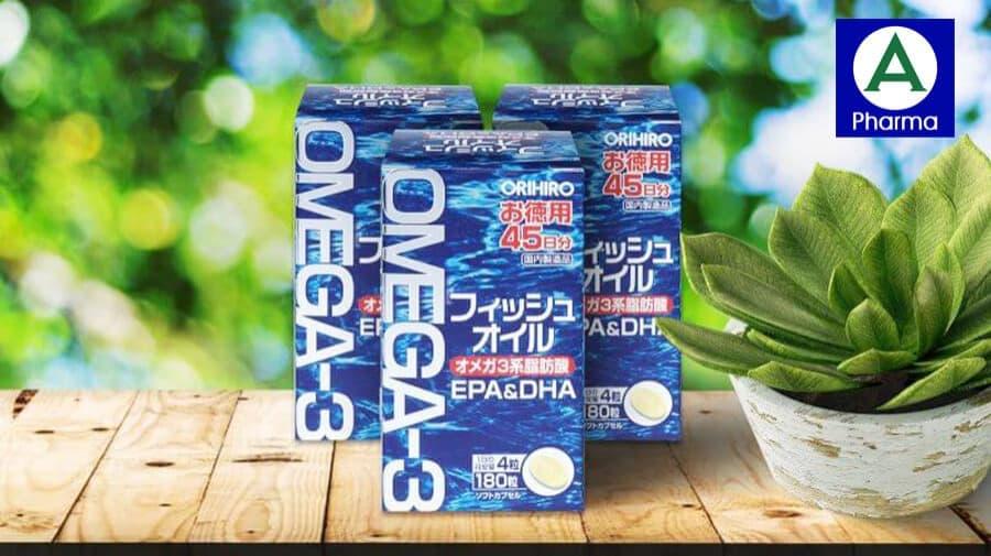 Dầu cá Omega 3 Orihiro Nhật Bản - Tốt cho mắt và tim mạch