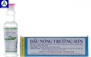 Dầu nóng trường sơn 6ml – Dầu xoa hô hấp và đau nhức cơ của Việt Nam