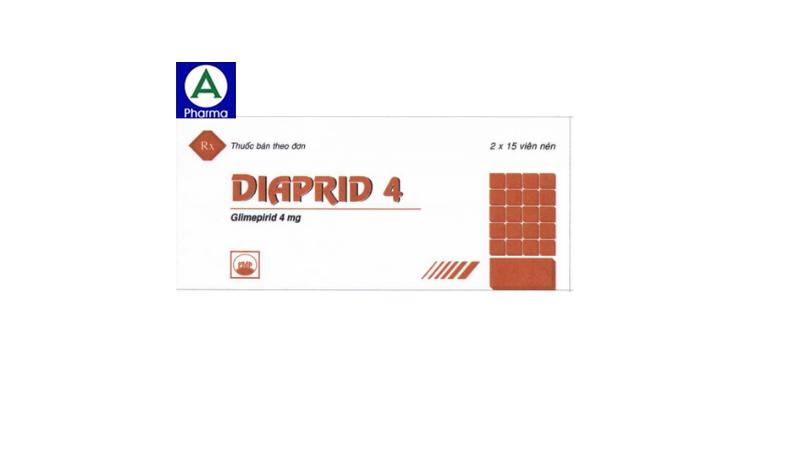 Diaprid 4mg – Thuốc điều trị đái tháo đường tuýp II của Việt Nam