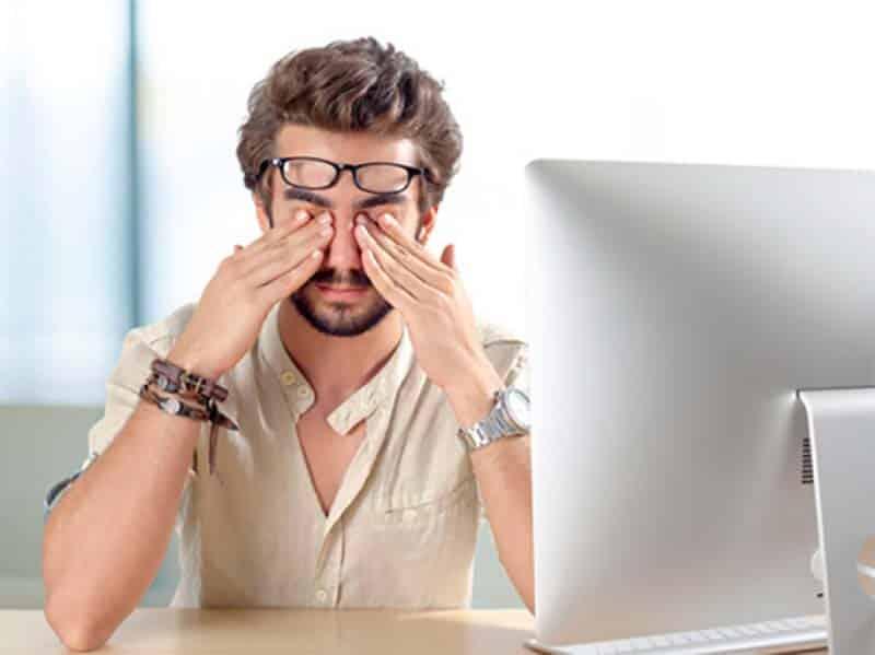 Điều chỉnh kích thước chữ phù hợp để tránh mỏi mắt