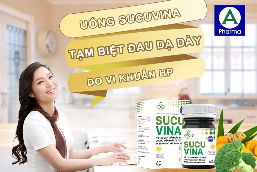 Viên uống Sucu Vina có thể sử dụng cho nhiều đối tượng