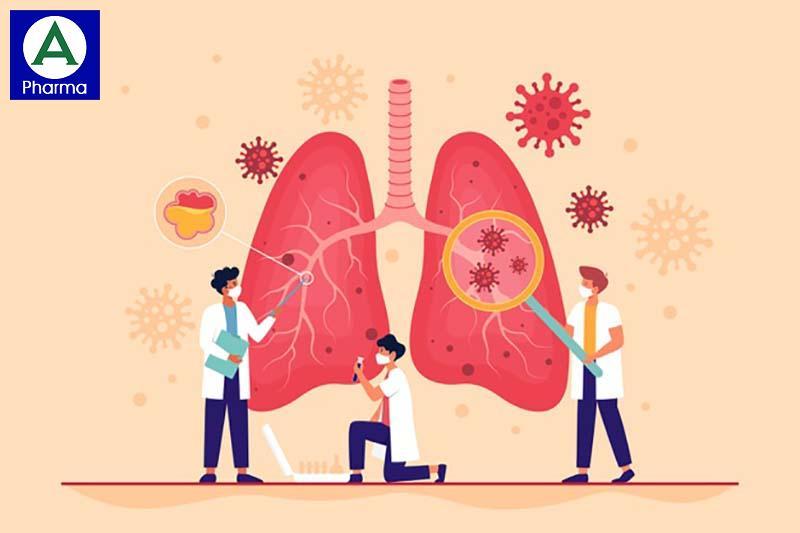 Doromax 200mg điều trị nhiễm khuẩn ở phổi