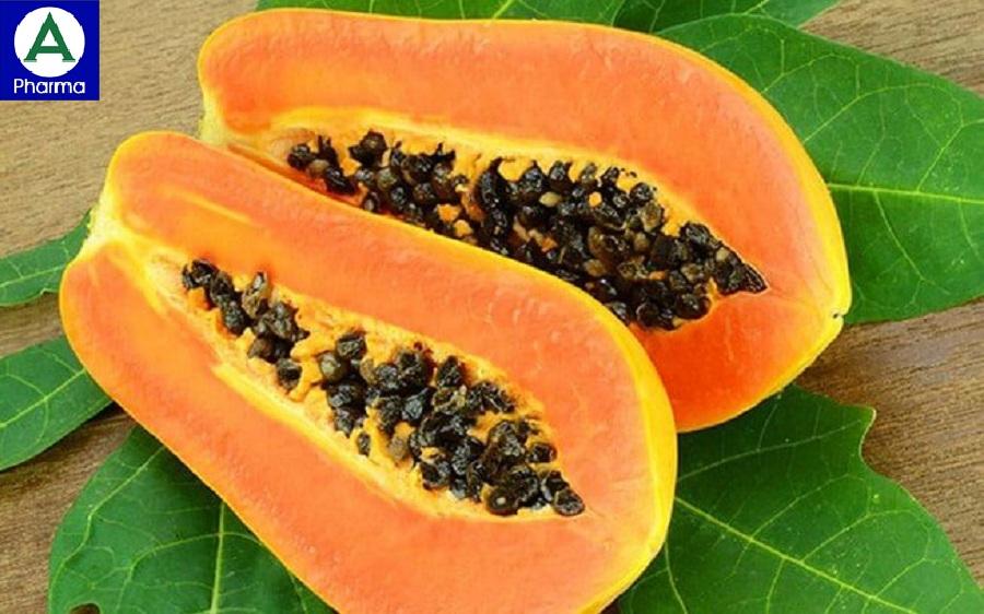 Một quả đu đủ nhỏ mang lại cho cơ thể 30% Vitamin A nhu cầu hàng ngày