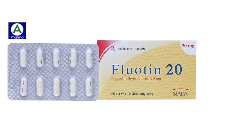 Fluotin 20 2x10 Stada – Thuốc ức chế tái hấp thu serotonin đặc hiệu điều trị trầm cảm của Việt Nam