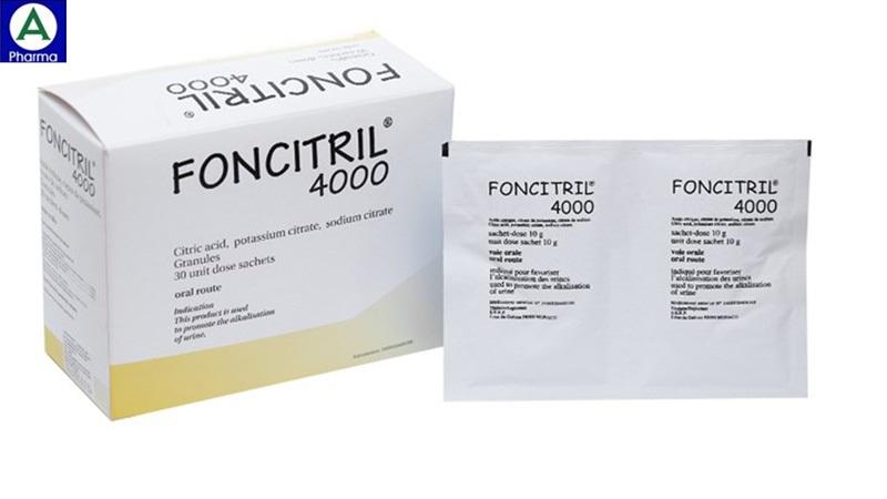 Foncitril - Thuốc điều trị sỏi thận của Việt Nam