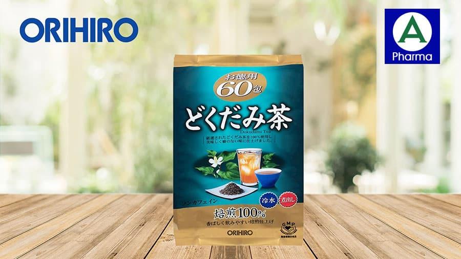 Hình ảnh trà diếp cá Orihiro Nhật Bản.