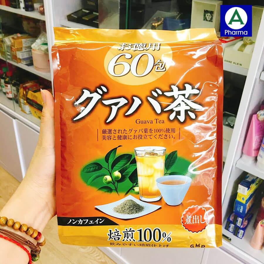 Hình ảnh trà giảm cân Orihiro Guava Tea