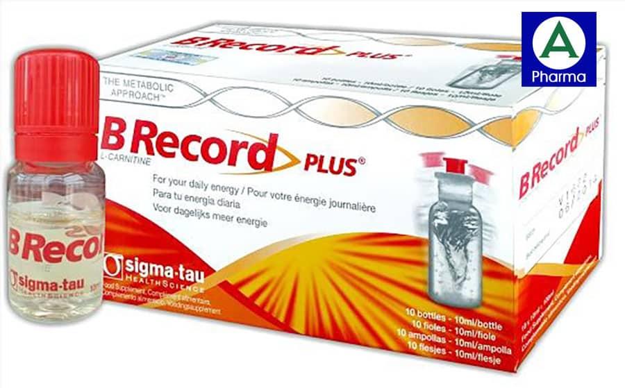 B Record Plus hộp 10 chai giúp cung cấp vitamin, tăng cường sức đề kháng