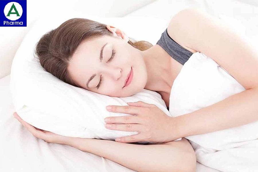 Giấc ngủ ngon giúp mang đến một tinh thần thoải mái