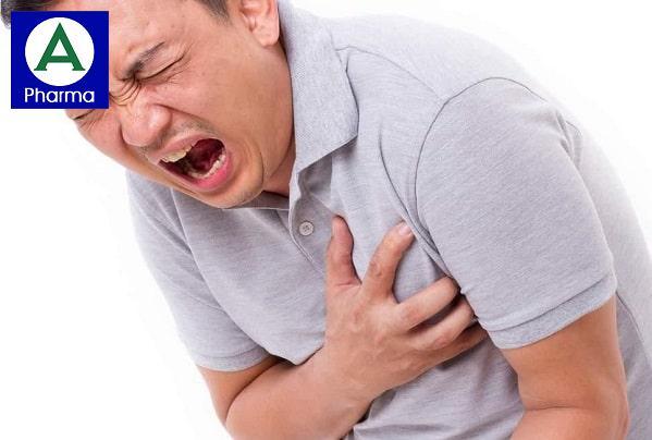 Liều dùng Dilatrend khi đau thắt ngực