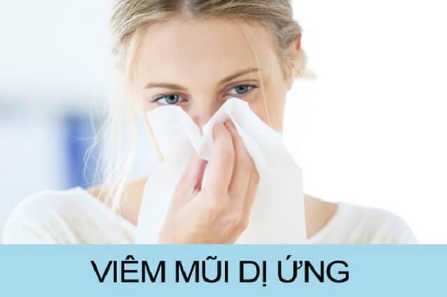 Điều trị viêm mũi dị ứng vô cùng hiệu quả