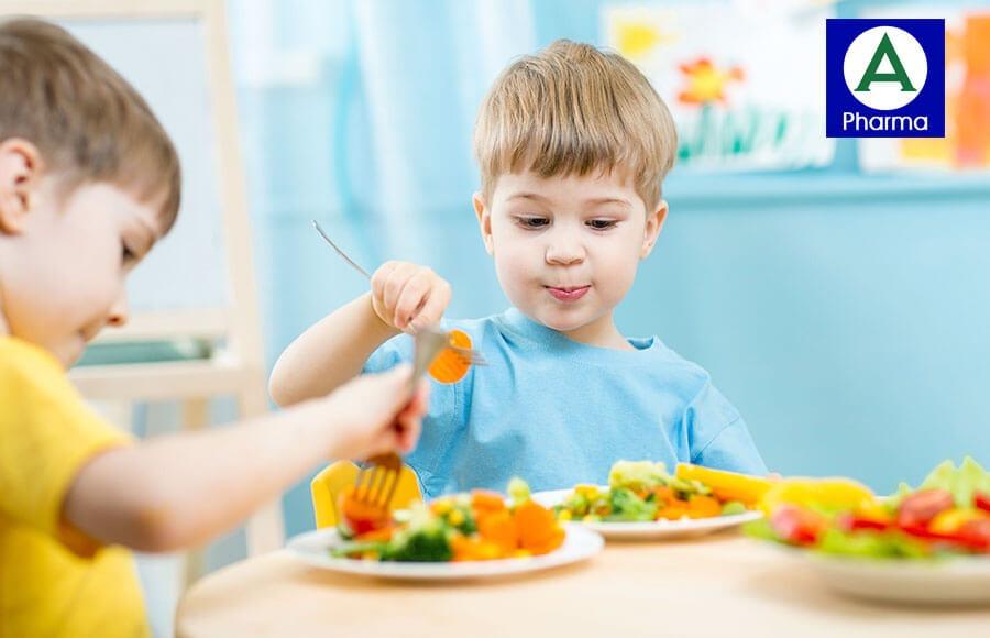 Men vi sinh Fermentix Plus giúp bé ăn ngon miệng và hấp thụ chất dinh dưỡng tốt hơn
