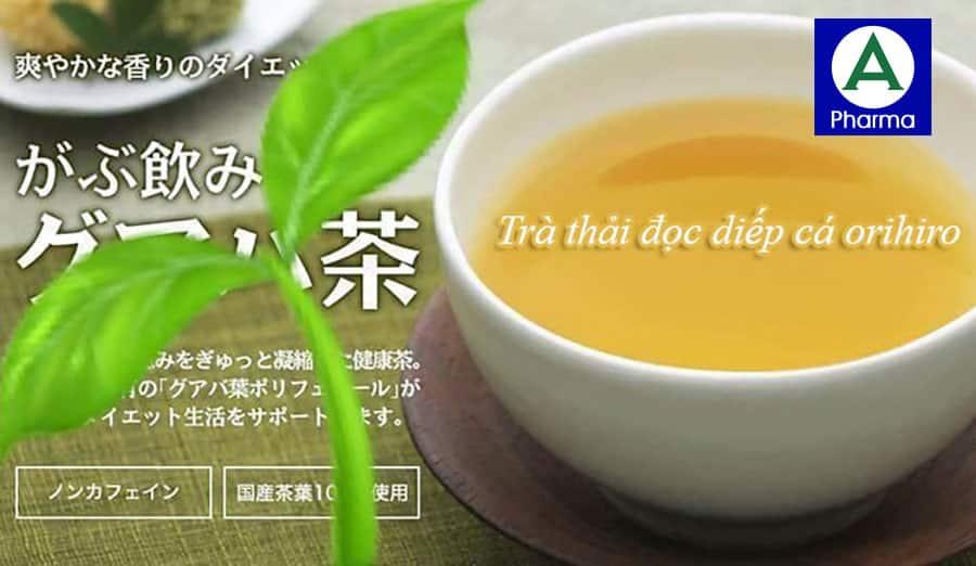Những ai nên sử dụng trà diếp cá Orihiro?