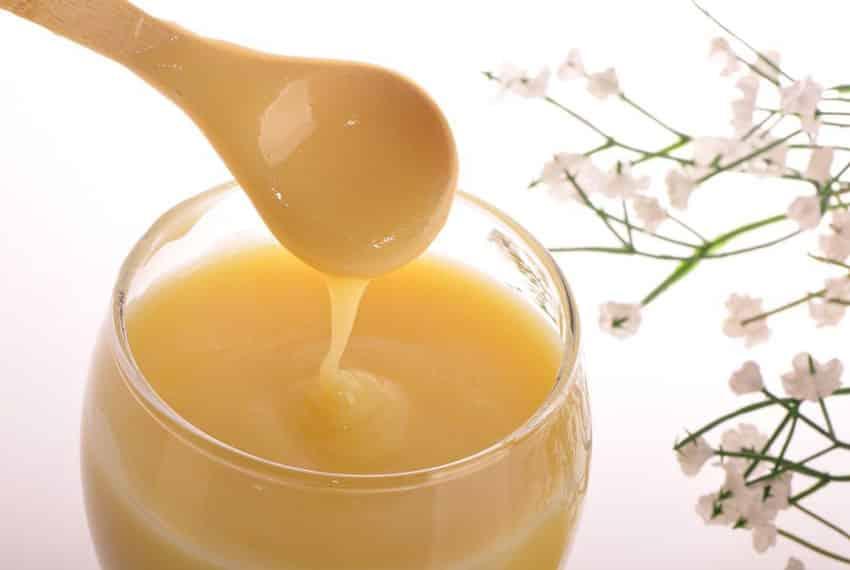 Nhận biết sữa ong chúa tươi bằng cách thử trực tiếp